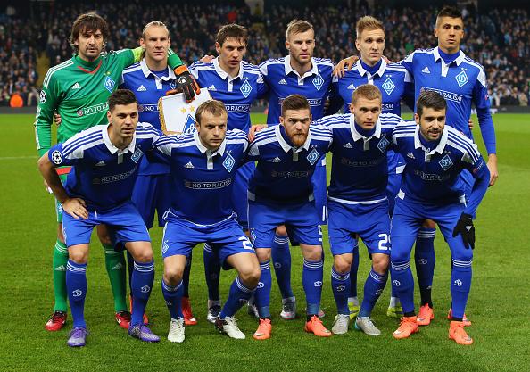 KIEV, UKRAINE - NOVEMBER 4, 2009: FC Dynamo Kiev team pose ...  |Dinamo Kiev