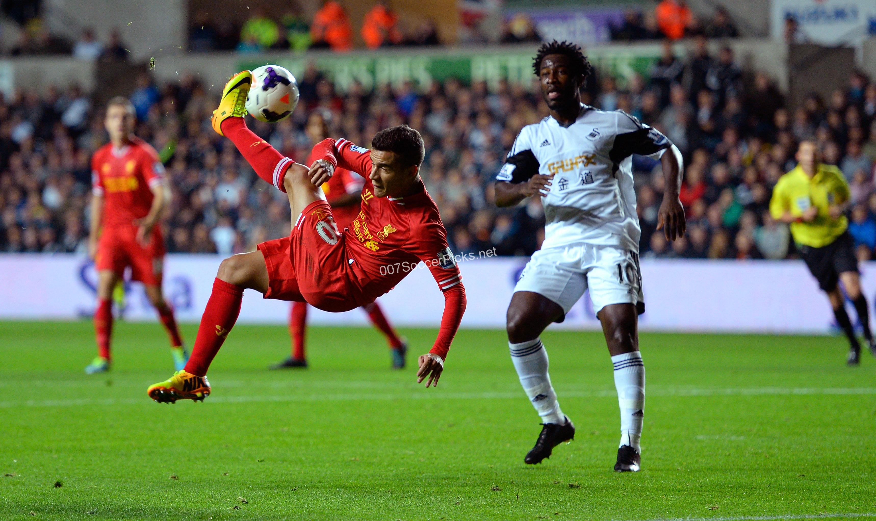 Liverpool vs Swansea prediction