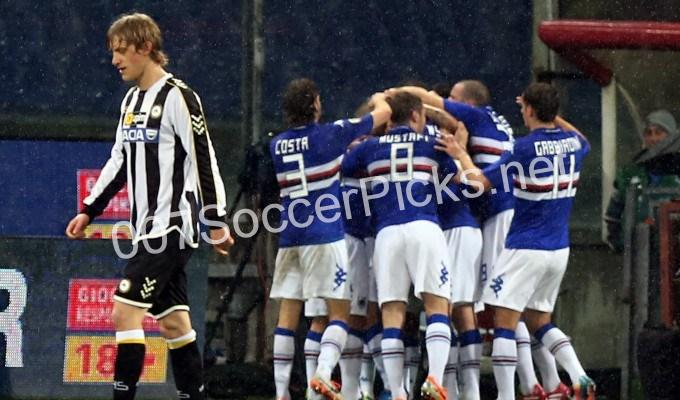 Sampdoria vs Udinese (PICKS, PREDICTION, PREVIEW) Preview