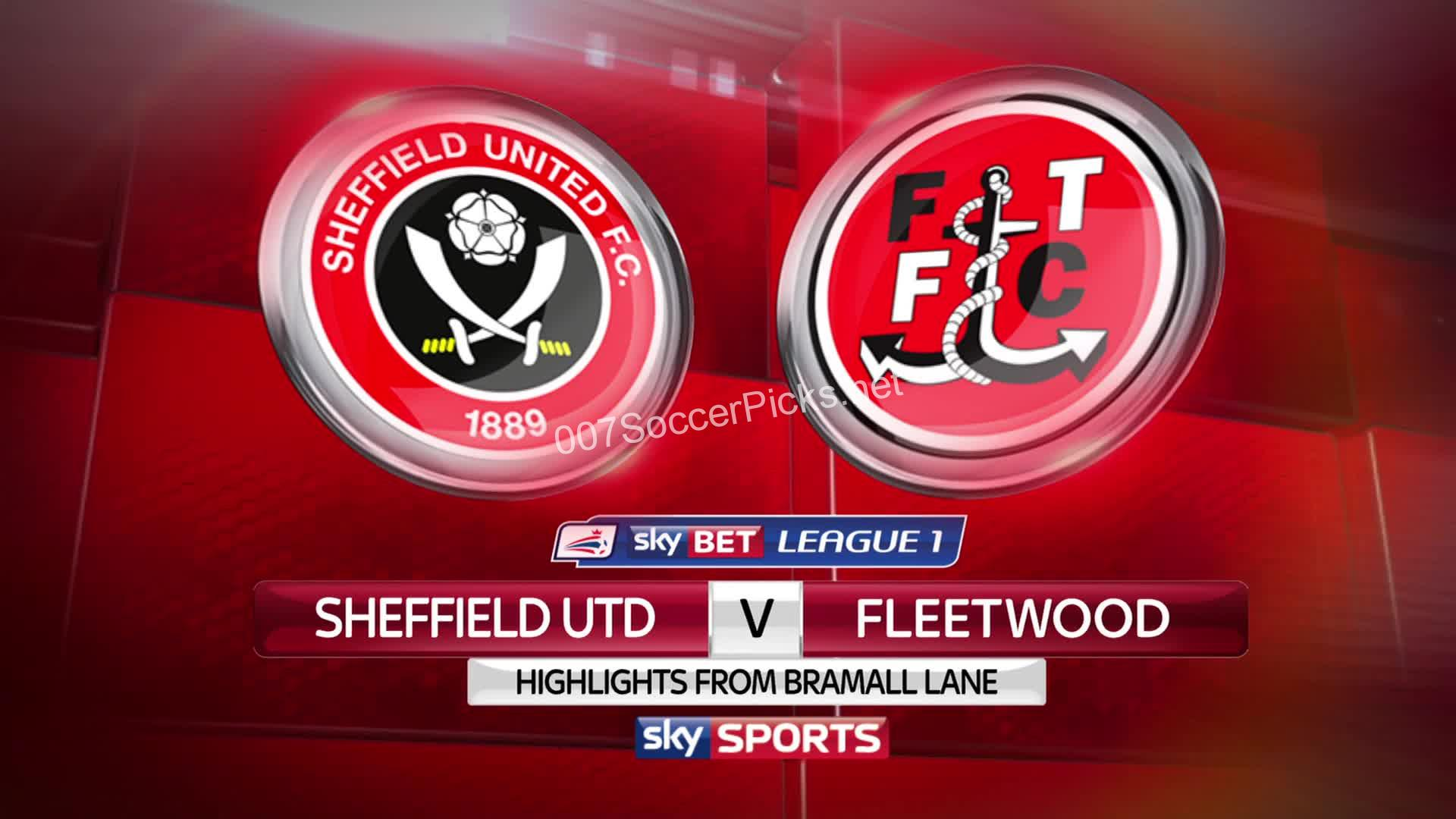 Sheffield United vs Fleetwood Town (Pick, Prediction, Preview